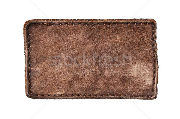 Blank jeans label Stock photo © ashumskiy