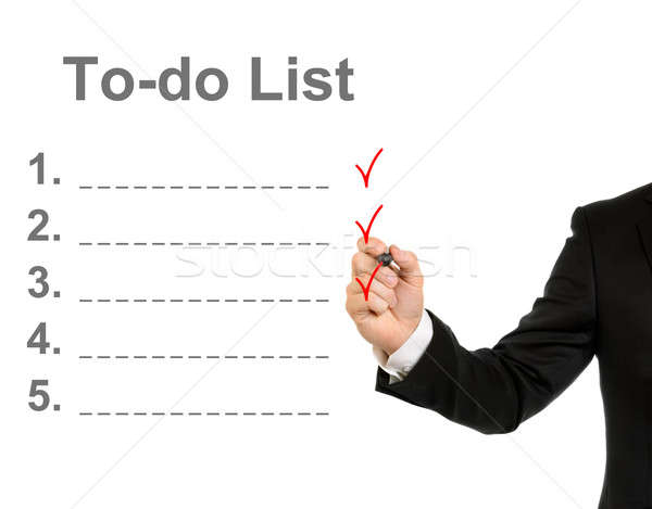To do list Stock photo © ashumskiy
