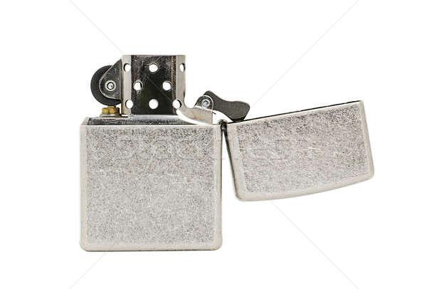 Metal encendedor aislado blanco luz salud Foto stock © ashumskiy