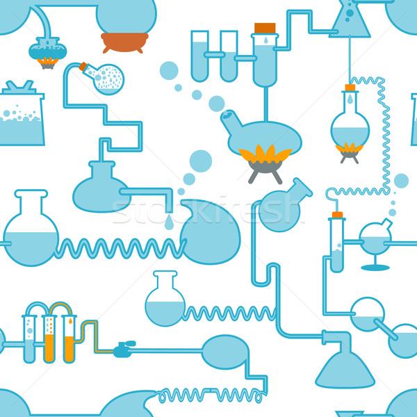 chemistry symbol seamless Stock photo © ashusha