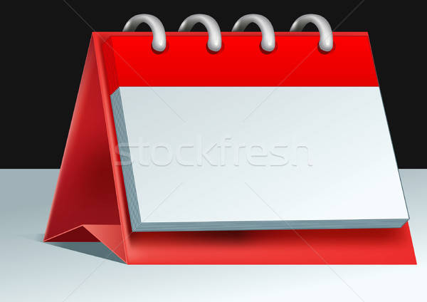 blank calendar Stock photo © ashusha