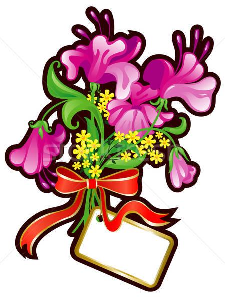 Schoonheid plant boeket spray tak Stockfoto © ashusha