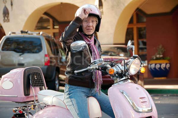 60 年 古い 女性 ストックフォト © aspenrock