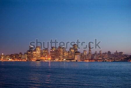 city of san francisco at night Stock photo © aspenrock