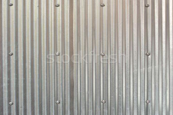 Staal moer patroon textuur achtergrond lijn Stockfoto © aspenrock