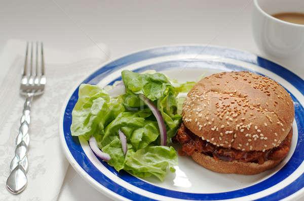 vegetarian sloppy joe Stock photo © aspenrock
