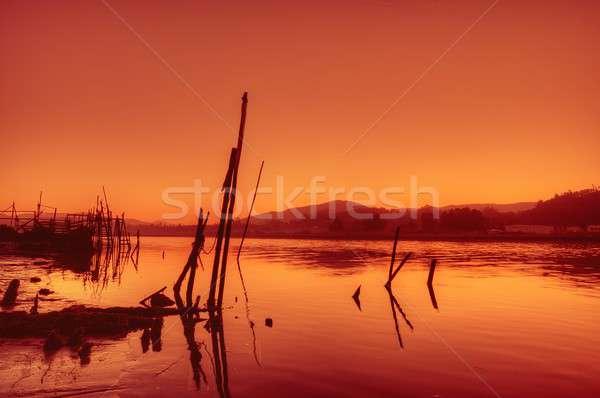 Warm evening. Stock photo © asturianu