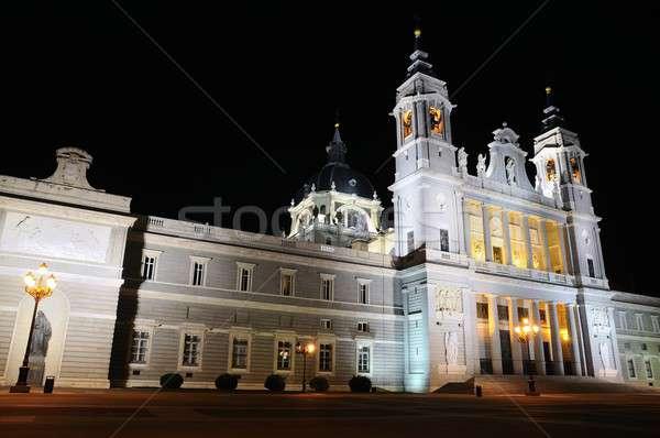 大聖堂 マドリード 1泊 表示 市 教会 ストックフォト © asturianu