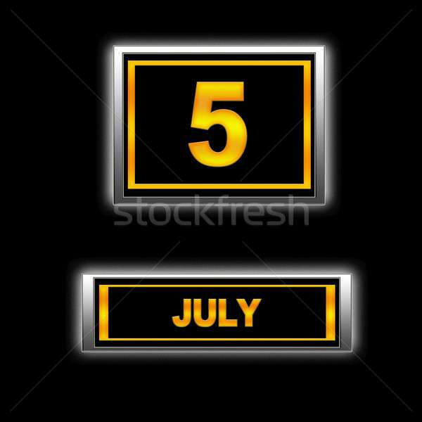 July 5. Stock photo © asturianu