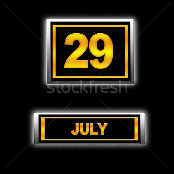 July 29. Stock photo © asturianu