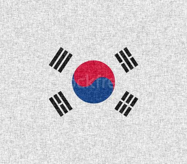 Flag of South Korea Stock photo © asturianu