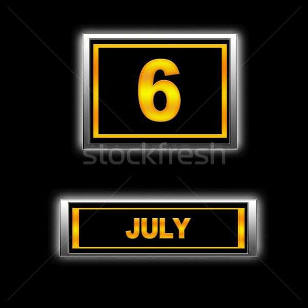 July 6. Stock photo © asturianu