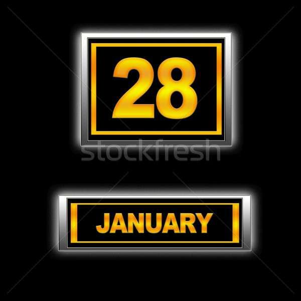 January 28. Stock photo © asturianu