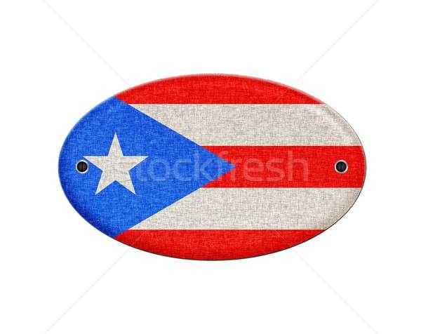 Puerto Rico illustratie textuur vintage patroon Stockfoto © asturianu