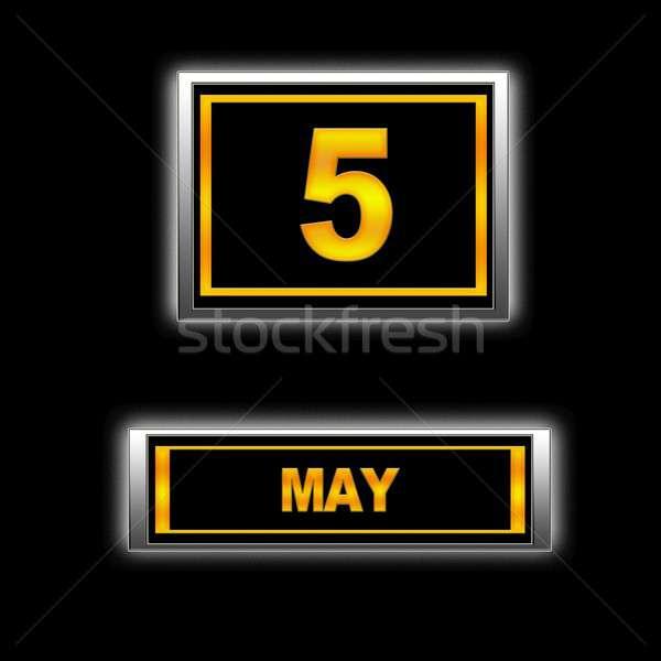 May 5. Stock photo © asturianu