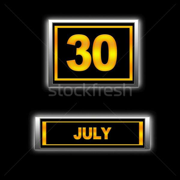 July 30. Stock photo © asturianu