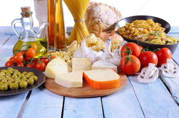 Mediterranean cuisine. Stock photo © asturianu