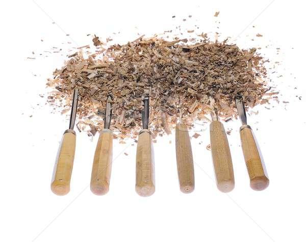 Carpenter tools. Stock photo © asturianu