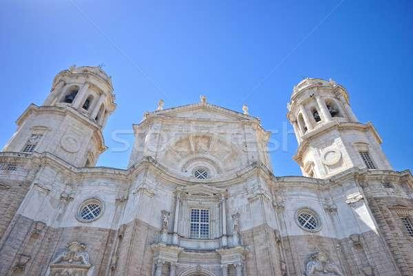 Cathedral of Cadiz. Stock photo © asturianu