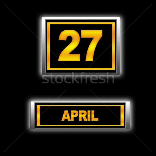 April 27. Stock photo © asturianu
