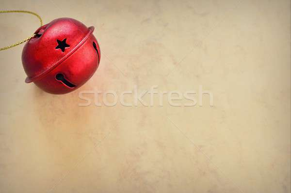 Christmas ball on marble background Stock photo © asturianu