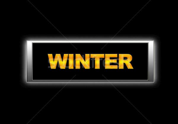 Winter. Stock photo © asturianu