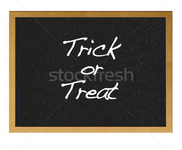 Trick or treat. Stock photo © asturianu
