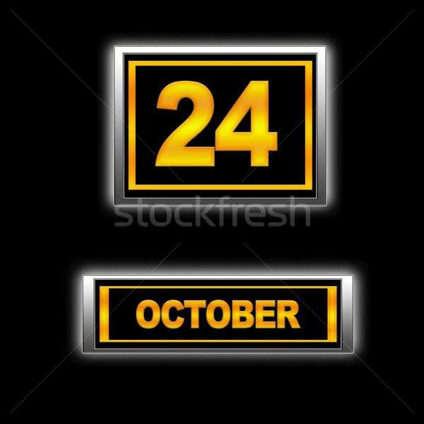 October 24. Stock photo © asturianu