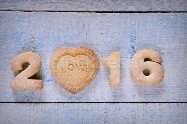 New year 2016 Stock photo © asturianu