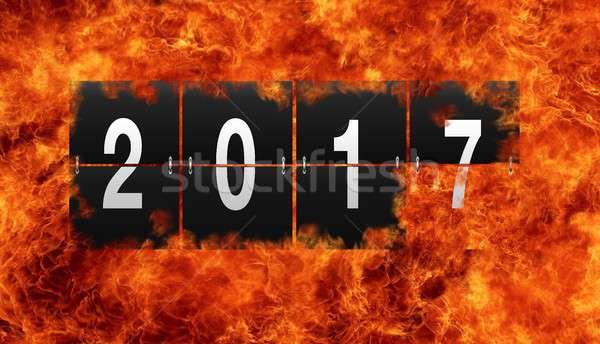 End of Year 2017. Stock photo © asturianu