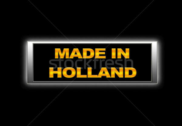 Made in Holland. Stock photo © asturianu