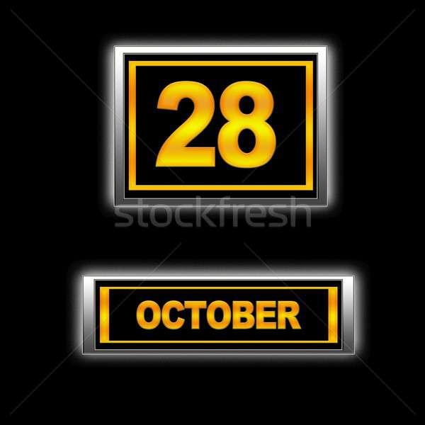 October 28. Stock photo © asturianu