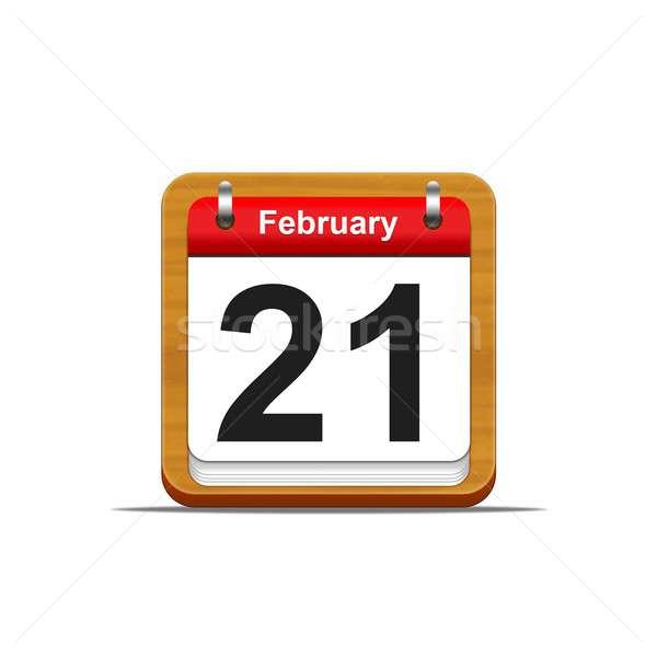 February 21. Stock photo © asturianu