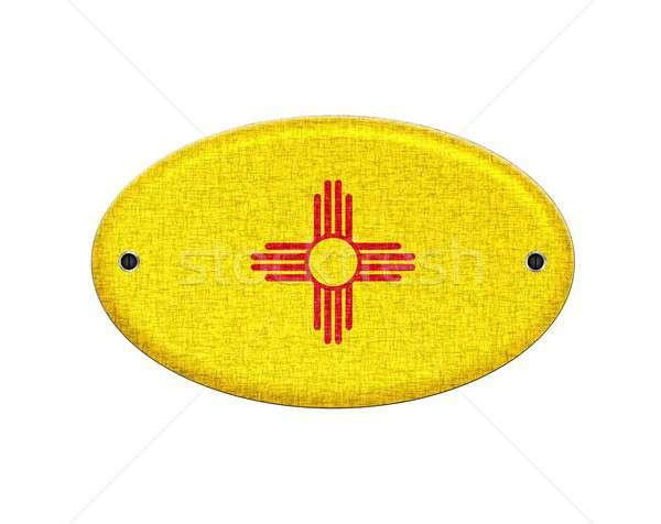 Нью-Мексико иллюстрация дизайна знак стране Сток-фото © asturianu