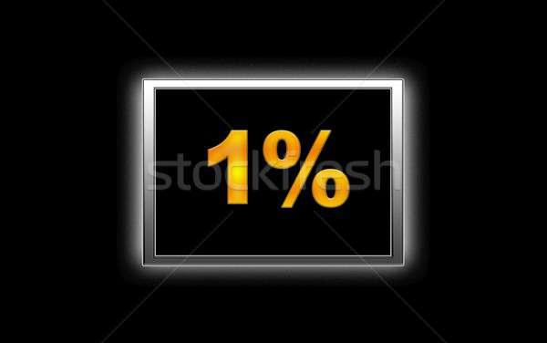 1% Discount. Stock photo © asturianu
