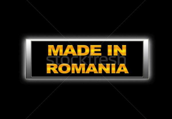 Made in Romania. Stock photo © asturianu