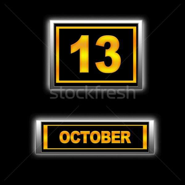 October 13. Stock photo © asturianu