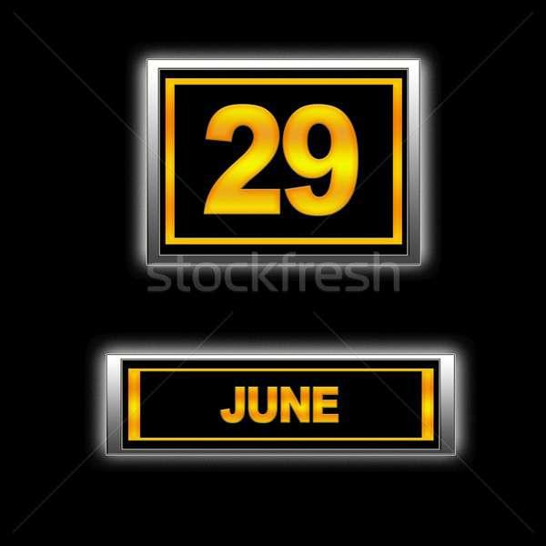 June 29. Stock photo © asturianu