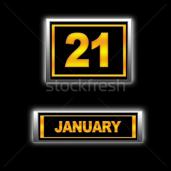 January 21. Stock photo © asturianu