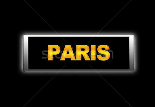 Paris. Stock photo © asturianu