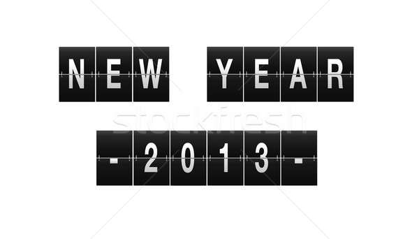 New Year 2013. Stock photo © asturianu