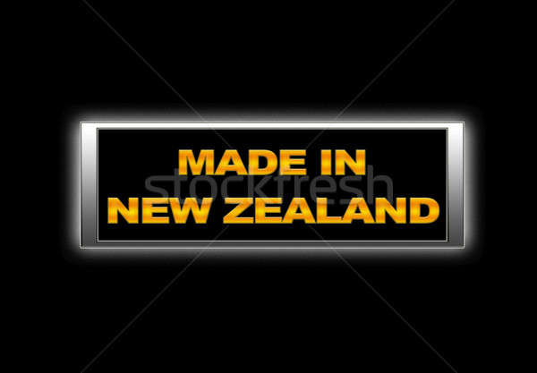 Made in New Zealand. Stock photo © asturianu