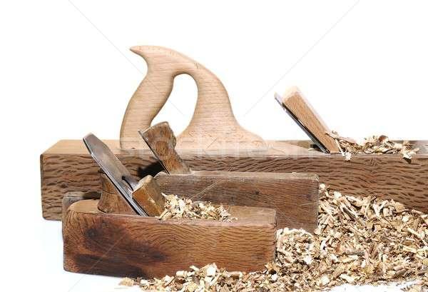 Antique woodworking tools Stock photo © asturianu