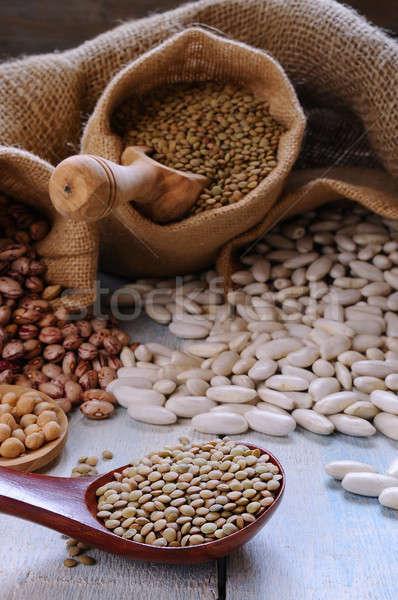 Various bean cultures Stock photo © asturianu