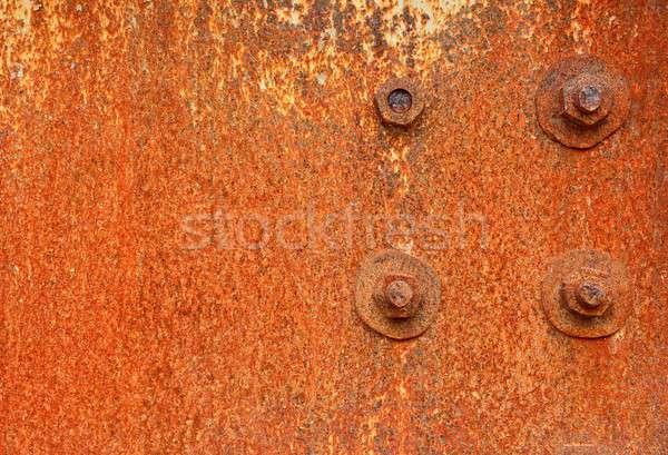 Rusty metal background Stock photo © asturianu