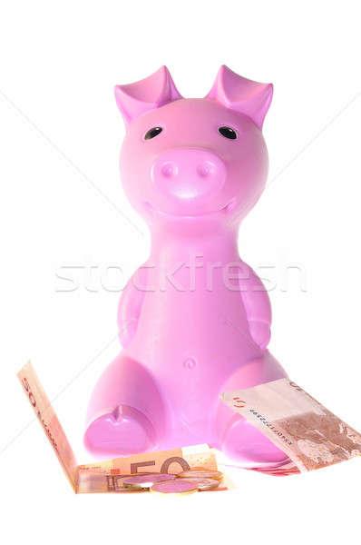 Piggy bank. Stock photo © asturianu