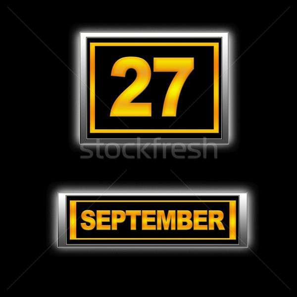 September 29. Stock photo © asturianu