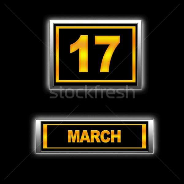 March 17. Stock photo © asturianu
