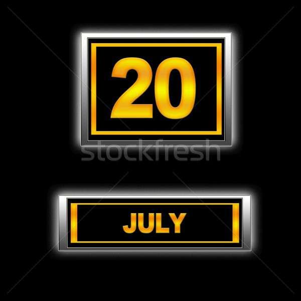 July 20. Stock photo © asturianu