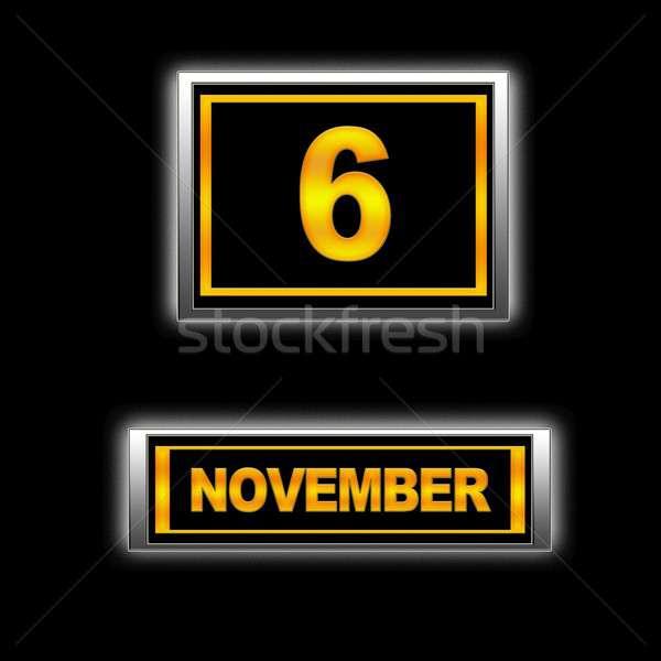 November 6. Stock photo © asturianu